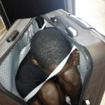 19 Year-old Gabon Migrant Stashed in Suitcase Impounded in Spain