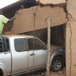 Man Kills Self  After Wife Ploughed Into A House During A Driving Lesson