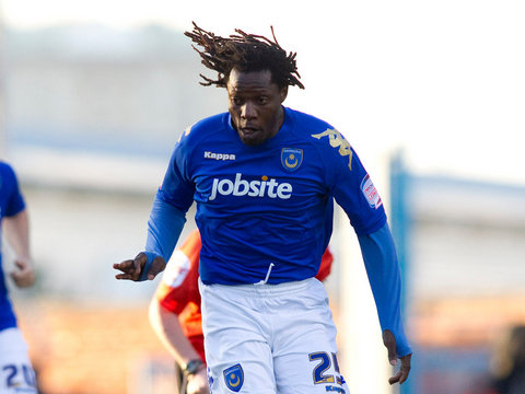 Benjani scores against Derby County in the 2007-08 Premier League season  Read more at: http://www.portsmouth.co.uk/sport/football/pompey/on-this-day-benjani-scores-premier-league-hat-trick-1-7780245