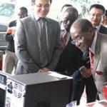 Mugabe heard about National Hero Peter  Chanetsa's death through the Internet
