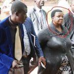 Cornered Zimbabwe top  cop tries to SWALLOW bribe