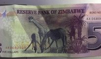 FIVE dollar bond note