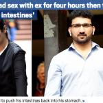 Woman 'tried pulling out ex's intestines after four-hour sex session'