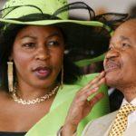 Chiluba's wife dies