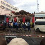 Video:Nando's building collapses, several injured