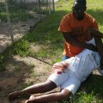 Pictures: Rusape woman attacked by lions, injured