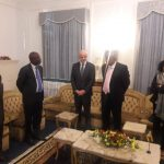 Pictures:FIFA president Infantino meets Mugabe in Zimbabwe