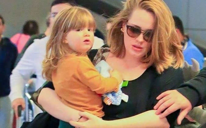 adele son injured by mum�s fireworks