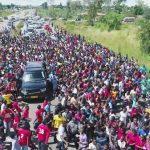 PICS:Prophet Walter Magaya returns  home from Israel to a hero's welcome