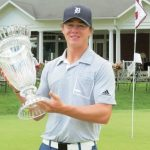 Zimbabwean  golfer Crocker wins the Italian Amateur Champs