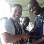 Actor Will Smith makes surprise visit to Victoria Falls in Zimbabwe