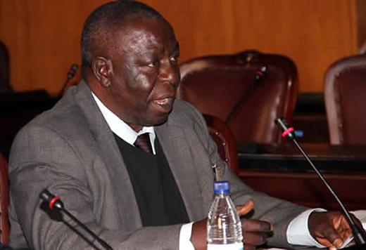 Zimbabwe Chess Federation president Charles Kuwaza