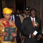 Mugabe sings praises to Oppah Muchinguri
