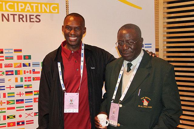 Former Zimbabwe Chess Federation President Kuwaza