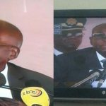 Robert Mugabe has had a bizzare  skinhead haircut, and people are talking