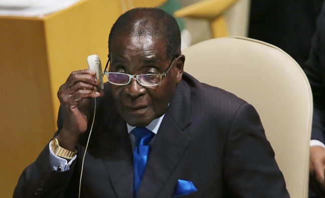Mugabe now ruling from a wheelchair