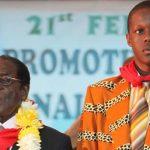 Robert  Mugabe Jnr fumes over dad's wheelchair joke
