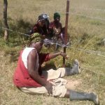 Horror as Mugabe's Police Officer Shackles Elderly Woman to Open Wire Fence