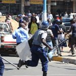 Cop bashed at MDC HQ