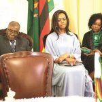 PIC: Gloomy Mugabe family gets Zimbabweans talking
