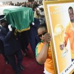 Cheick Tiote  laid to rest