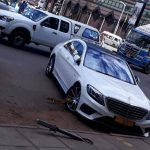 Rogue Wicknell Chivayo's car clamped