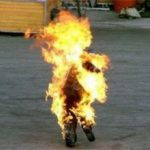 Zanu PF official petrol-bombed