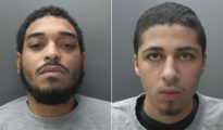 Joseph Zulu (left) has been jailed for life. Nicholas Grant was given 11 years for manslaughter