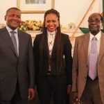 Aliko Dangote 's Girl Josey Mahachi Says Mugabe Is Deaf