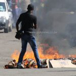 PICS: Harare Burns as MDC youths, police clash