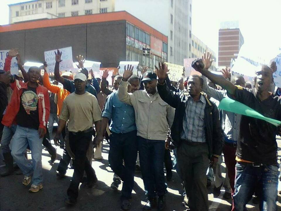 MDC supporters assault soldier