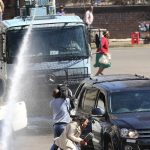 Police use tear gas on opposition supporters as Harare turns into a war zone