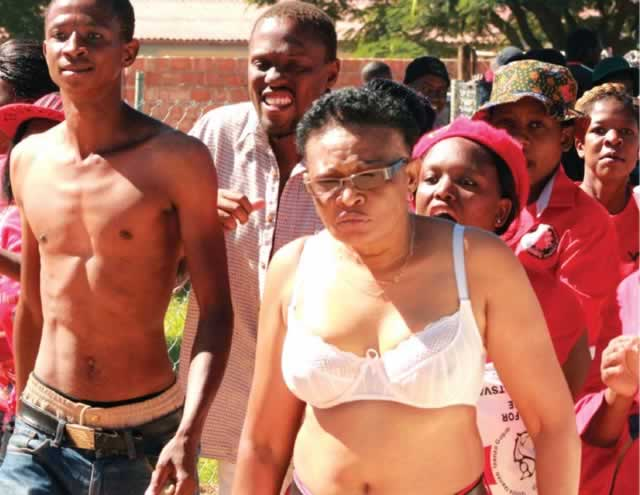 Harare women march against abuse at commuter omnibus ranks