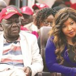 Picture showing Morgan Tsvangirai listening to his party problems while fast asleep causes stir
