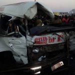Kombi crash kills 4 in Harare