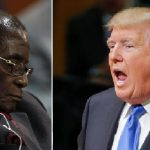 Sleeping Mugabe Left Out of Donald Trump's Working Lunch With African Leaders