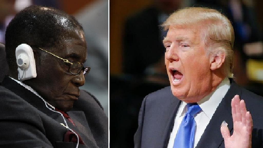 Sleeping Mugabe Left Out of Donald Trump's Working Lunch With African Leaders | Zimbabwe News
