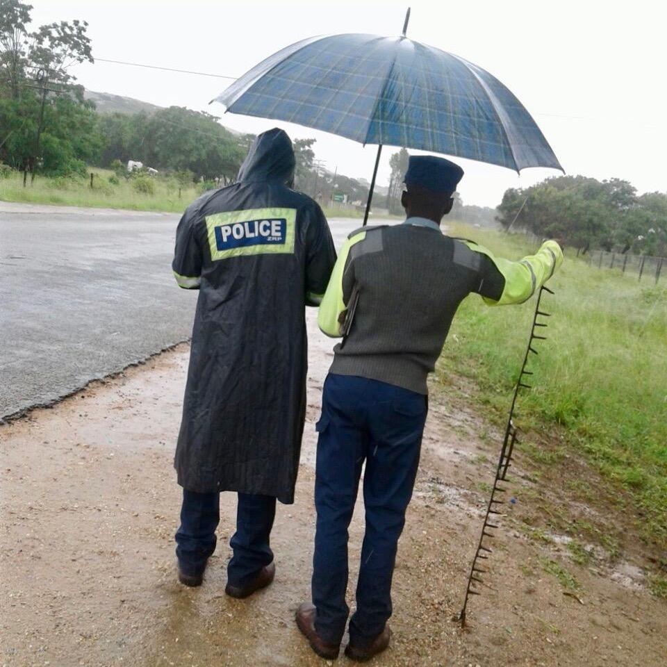 Zimbabwe Police Spikes