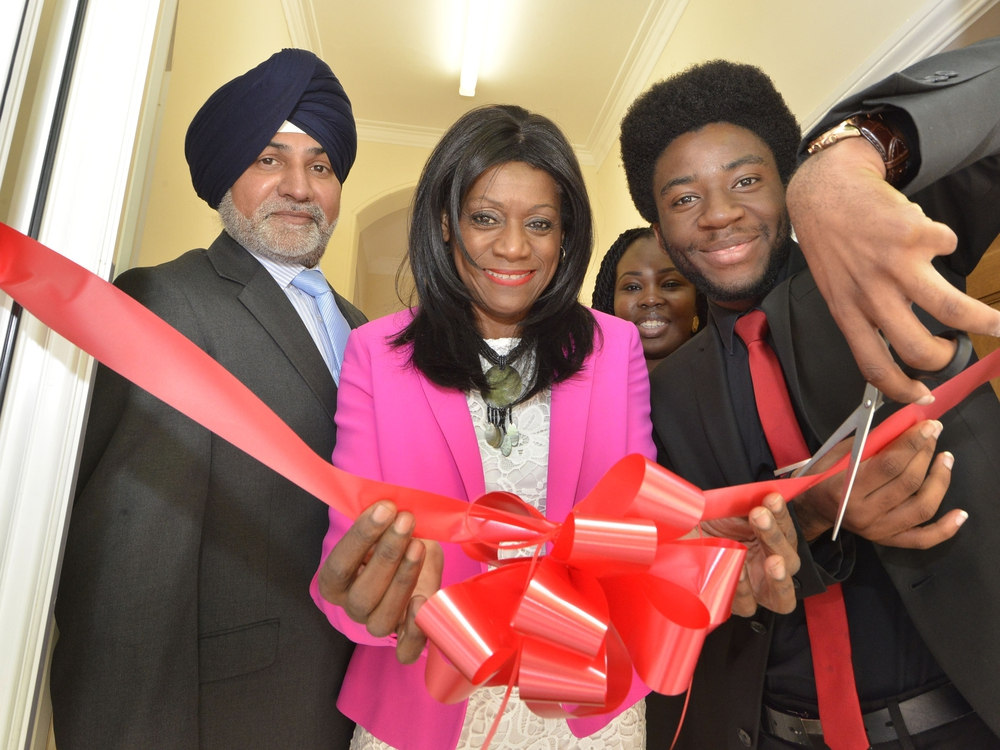 Zimbabwean Student Destined For Oxford University Brian White Opens MP's New Office