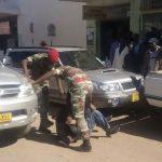 'Masked Zimbabwean Soldiers Rob Botswana Garage'