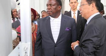 HOME >> NEWS >> INTERNATIONAL EXCHANGES Chinese firms plan special economic zone in Zimbabwe Li Lianxing and Xie Chuanjiao Updated: Jul 11,2015 10:26 AM China Daily Emmerson Mnangagwa, vice-president of Zimbabwe, visits Qingdao Hengshun Zhongsheng Group Co Ltd in Qingdao, Shandong province on July 9. Hengshun Zhongsheng is to work with other two companies to jointly build a special industrial park with an area of 100 square kilometers in Zimbabwe.[Photo/China Daily]