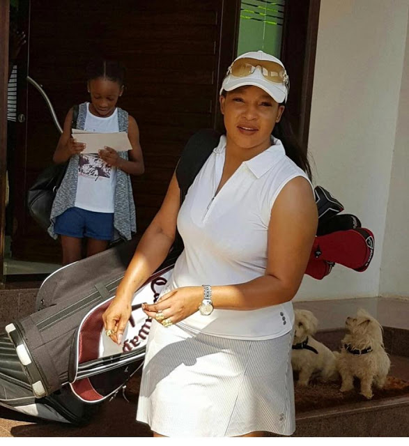 Elizabeth Macheka... Tsvangirai's wife goes for golf