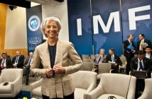 FILE: International Monetary Fund managing director Christine Lagarde during an IMF summit.
