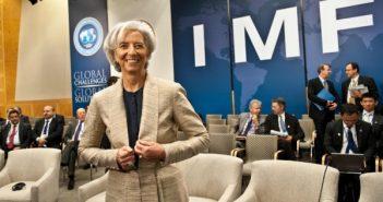 FILE: International Monetary Fund managing director Christine Lagarde during an IMF summit.