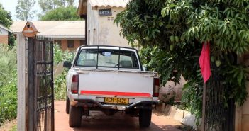 The house in Nkulumane, Bulawayo where the late Makhosi Dumoluhle Mbano's funeral wake is being held