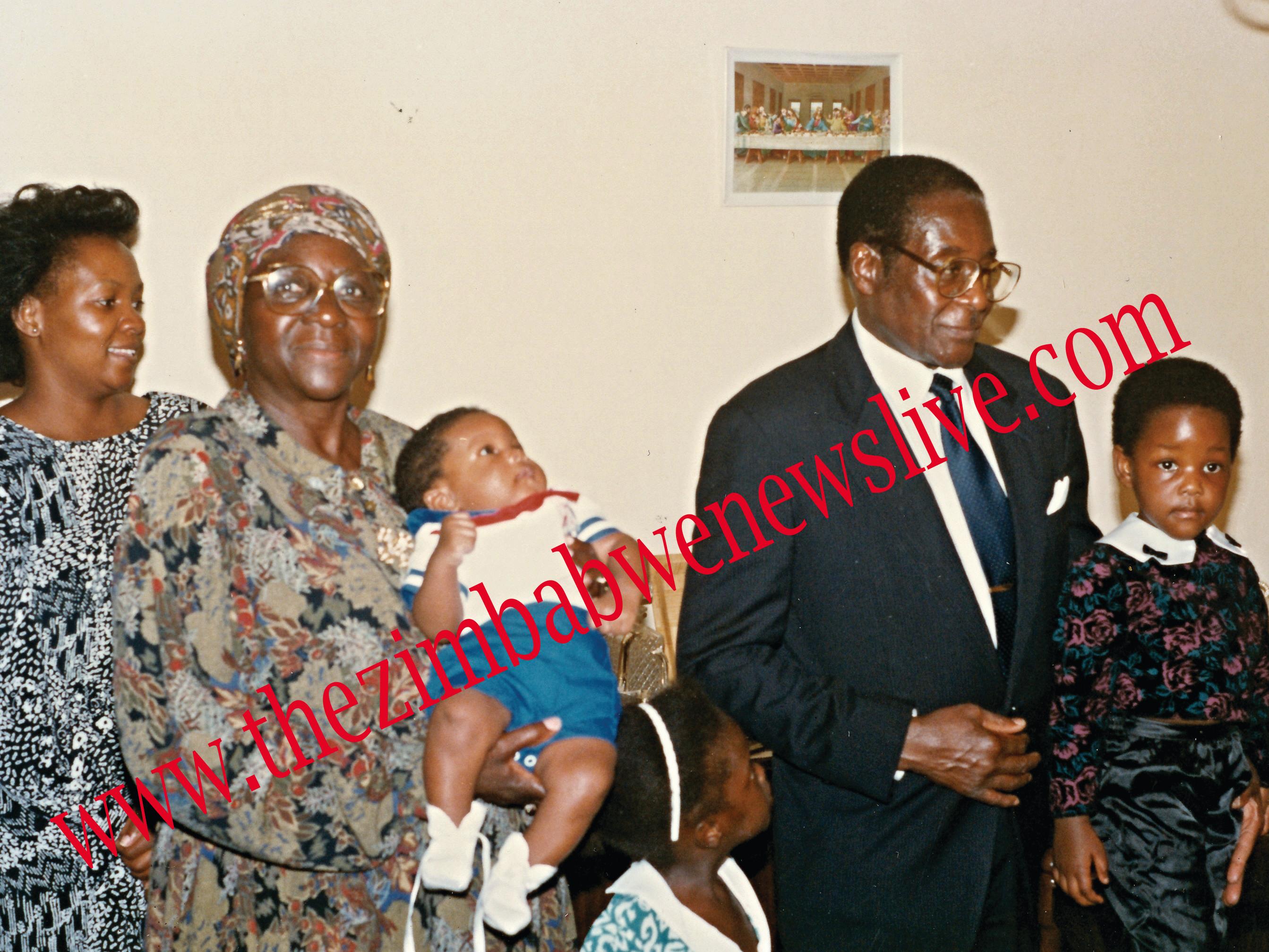 Mugabe with SISTER Sabina and Bona