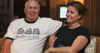 Roy Bennett, a senior Zimbabwean MDC opposition official, and his wife, Heather, relax at a friends home in Mutare, about 200 kilometers east of Harare, Zimbabwe, following his release from prison. A helicopter crash killed Bennett and his wife while on holiday in a remote part of the U.S. state of New Mexico, authorities said Jan. 18, 2018.