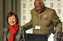 The South African Nobel Peace Prize laureate, Archbishop Desmond Tutu