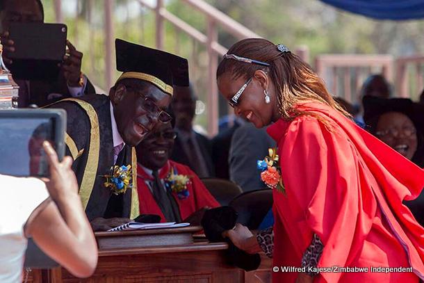 Grace Mugabe's thesis does not meet minimum academic requirements'