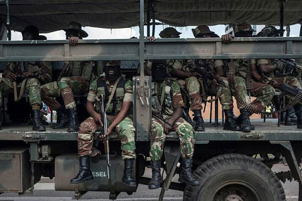 Eyebrows Raised As 80 Zimbabwe Soldiers Sit For Driver's ...